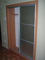 Встроенный шкаф купе фото