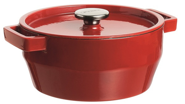 Кастрюля PYREX Slow Cook red чугун кастрюля кругл 3.6л  (SC5AC24)