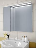 Шкаф зеркальный Garnitur.plus в ванную с LED подсветкой и полкой 35L (DP-V-200135)