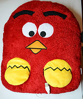 USB подушка с подогревом с кармашками для рук Angry Birds
