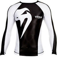 Рашгард Venum Giant Rashguard - Black/Ice, фото 1