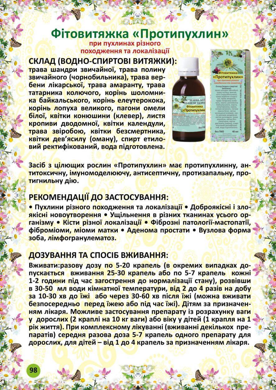 Протипухлин фитовытяжка 40 мл