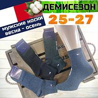 """Носки мужские демисезонные """"TH""""  25-27р  ассорти  НМД-05876"""