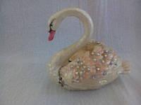 Шкатулка для украшений Лебедь