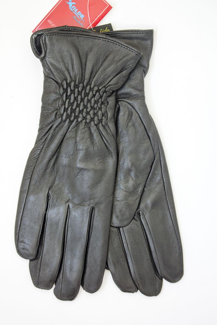 Перчатки из натуральной кожи - Средние
