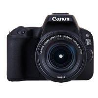 Цифровой фотоаппарат Canon EOS 200D kit 18-55 DC III Black (2250C014)