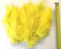 Перья жёлтые для воздушных шаров