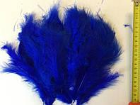 Перья синие для воздушных шаров