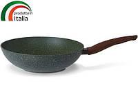 Сковорода TVS NATURA INDUCTION сковорода Вок 28 см б/крышки (BS793282910001), фото 1