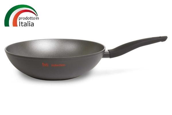 Сковорода TVS PREZIOSA INDUCTION сковорода Вок 28 см б/крышки (1W793283310101)