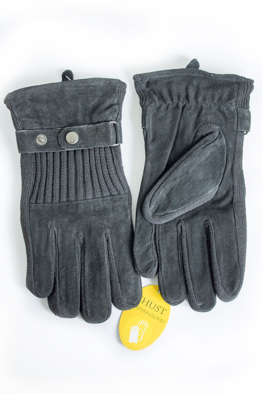 Мужские замшевые перчатки Shust Gloves Маленькие SG-160135s1