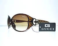 Очки женские Gucci солнцезащитные - Коричневые - 8181