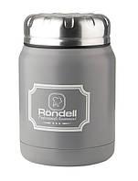 Термос для еды RONDELL RDS-943 Picnic Grey 0.5 л (RDS-943)