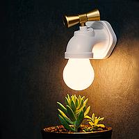 Светильник настенный Кран Белый, КОД: 103053