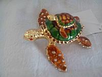 Шкатулка для украшений Черепаха