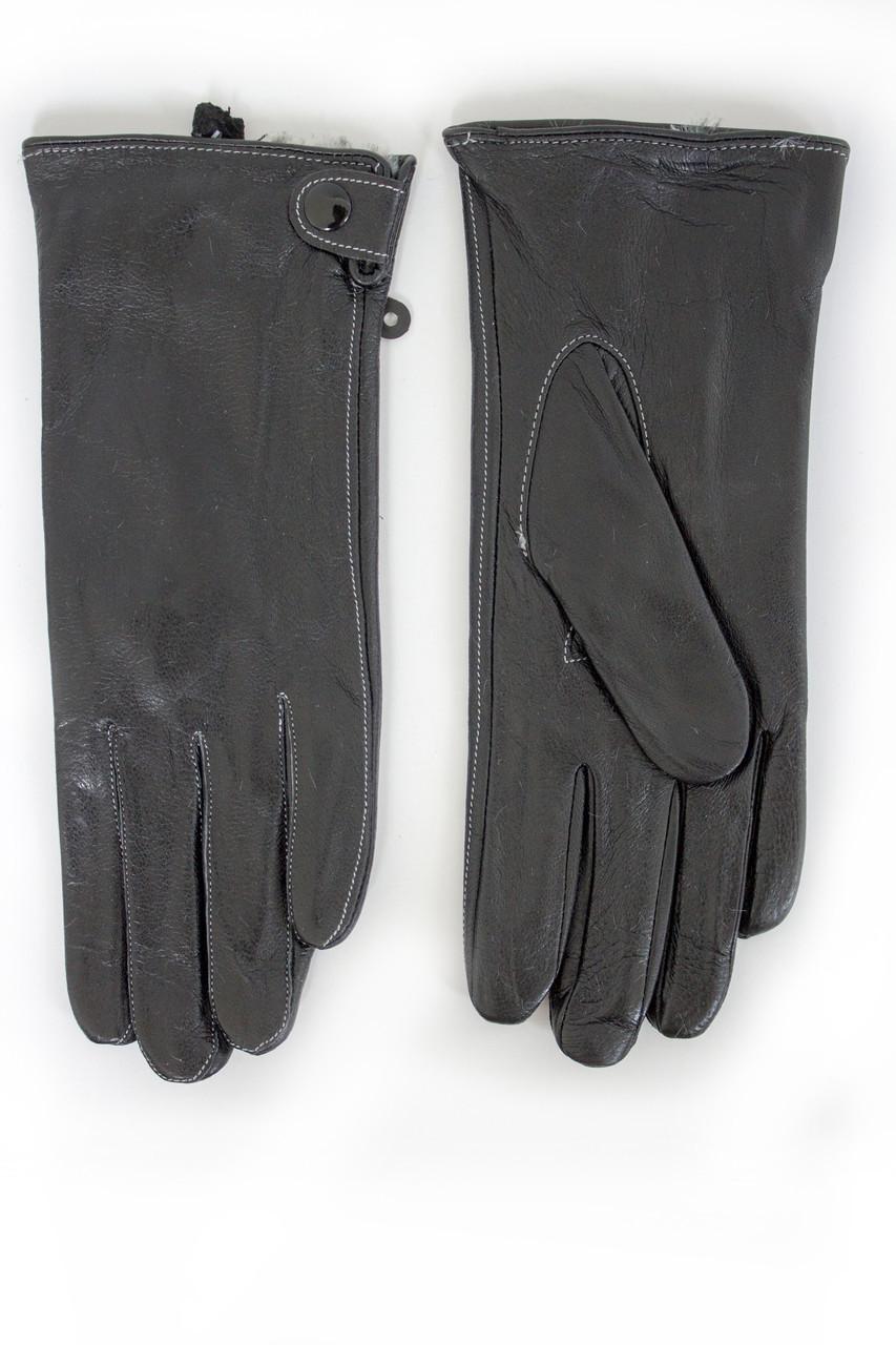 Женские кожаные перчатки ВЯЗКА Маленькие W15-160061s1