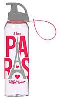 Бутылка д/воды пл. HEREVIN PARIS Hanger 0.75 л д/спорта (161405-200), фото 1