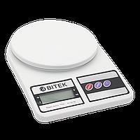 Весы кухонные Domotec MS 400 Белые, КОД: 105109