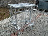 Контейнер для раздельного сбора мусора сетчатый КР-3