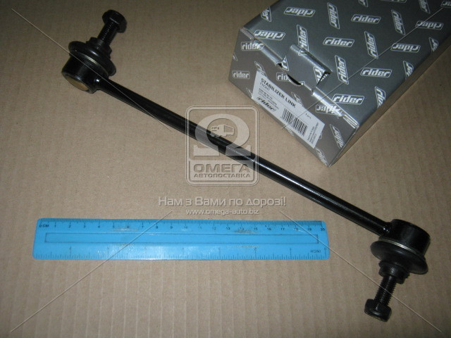 Стойка стабилизатора AUDI 80 86-94 передний (RIDER) RD.341510055