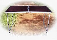 Набор мебели на природу стол чемодан 4 стула 8812