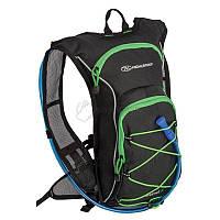 Highlander Рюкзак спортивний Kestrel 9 Hydration Pack 15 Black/Green, 924213