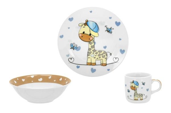 Набор посуды детск. Limited Edition G-BOY /НАБОР/3 пр. короб (C517)