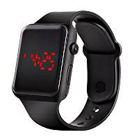 Часы наручные электронные Черные, КОД: 111800