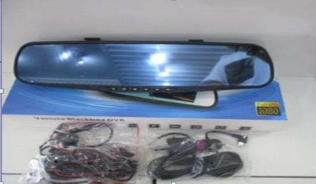 Зеркало регистратор с двумя камерами DVR  138W 4,0` two camera, фото 2