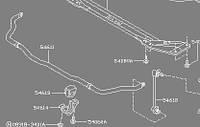 Стабилизатор задний INFINITI FX45/35 56230-CG000 новый оригинальный.