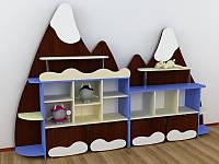 Стенка для игрушек Эверест (2603*321*1700h)
