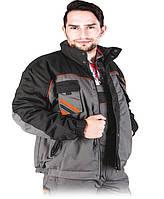 Защитная куртка PRO-WIN REIS XXL Серо-черный