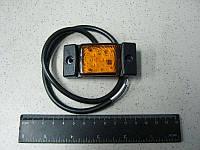 BH. Лампа отражающая малая LED, 12/24 V желтая