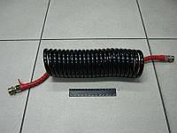 Шланг витой полиуретан М22x1,5 (черный красн. наконечник ) 7 м. MERCEDES, MAN (RIDER)