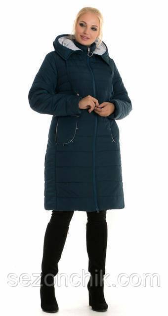 Зимняя женская удлиненная куртка новинка