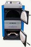 Твердотопливный пиролизный котел с газификацией древесины Atmos DC 70GSX, фото 3