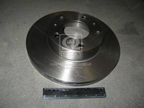 Диск тормозной CITROEN, FIAT, PEUGEOT, передний, вент. (Производство TRW) DF2721