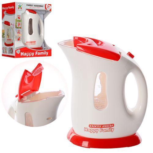 Чайник детский игрушечный 16 см звук, свет
