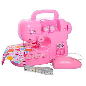 Швейная машинка игрушечная на батарейках шьет, фото 2