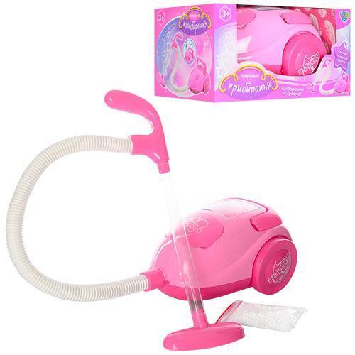 Пылесос детский игрушечный на батарейках 22-18-11см