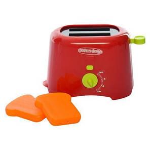 Тостер детский игровой 14см, звук, свет, на бат-ке, фото 2