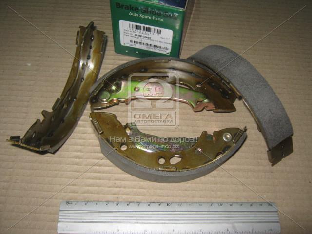 Колодка тормозная баробанного HYUNDAI ACCENT (производитель PARTS-MALL) PLA-002