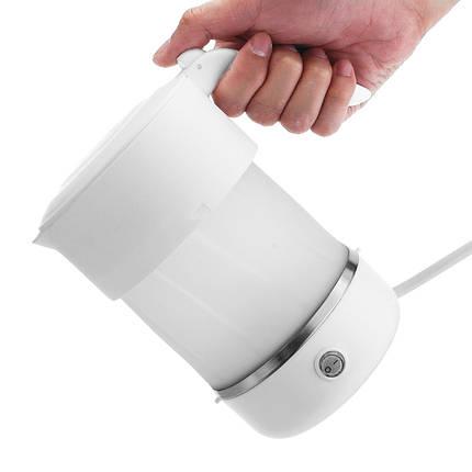 600Вт110-240В500мл Складная Силиконовый Электрический чайник Чай Кофеварка-1TopShop, фото 2