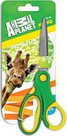 Ножницы детские с резиновыми вставками Kite Animal Planet, 15 см