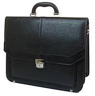Мужской портфель из эко кожи Arwena Польша YP-0592 черный