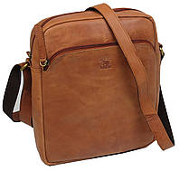 Кожаная мужская сумка планшетка Always Wild ZF1510 рыжий