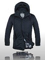 Мужская куртка Malidinu MC 15163 2H темно-синяя