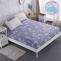 ПолиэфирныйматрасProtectorРозовыйКрышкадля кровати Фламинго Воздухопроницаемая и стираемая машиной обложка для кроватей 1TopShop