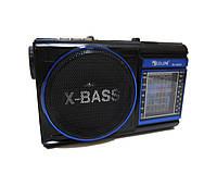 Радиоприемник колонка MP3 Golon RX-9009 Blue, фото 1