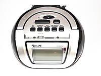 Бумбокс колонка караоке часы MP3 Golon RX 656Q Black, фото 1